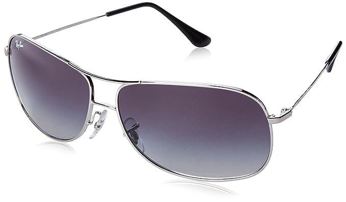 Ray-Ban Gafas de sol RB3267-003/8G: Plata - 64mm: Ray-Ban ...