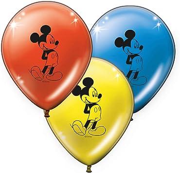 Verbetena, 014001168, Pack 8 Globos Disney Mickey Mouse Classic ...