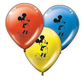 Verbetena, 014001168, pack 8 globos disney Mickey Mouse ...