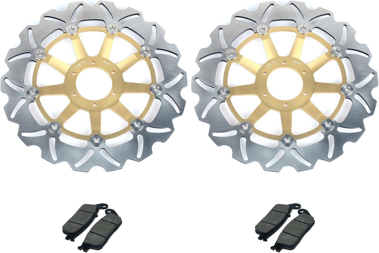 FRONT REAR Brake Pads for Honda CBR 600 FS//FT//FV//FW 1995-1998