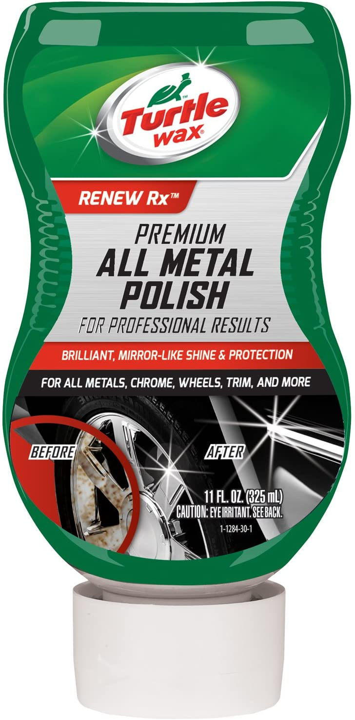 Turtle Wax Premium Grade Chrome & Metal Polish