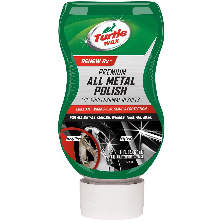 Metal Polishing Near Me >> Turtle Wax T 284 Premium Grade Chrome Metal Polish 11 Oz