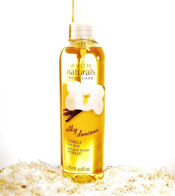 Naturals Silky Vanilla Body Spray, 8.4 fl. oz. avon