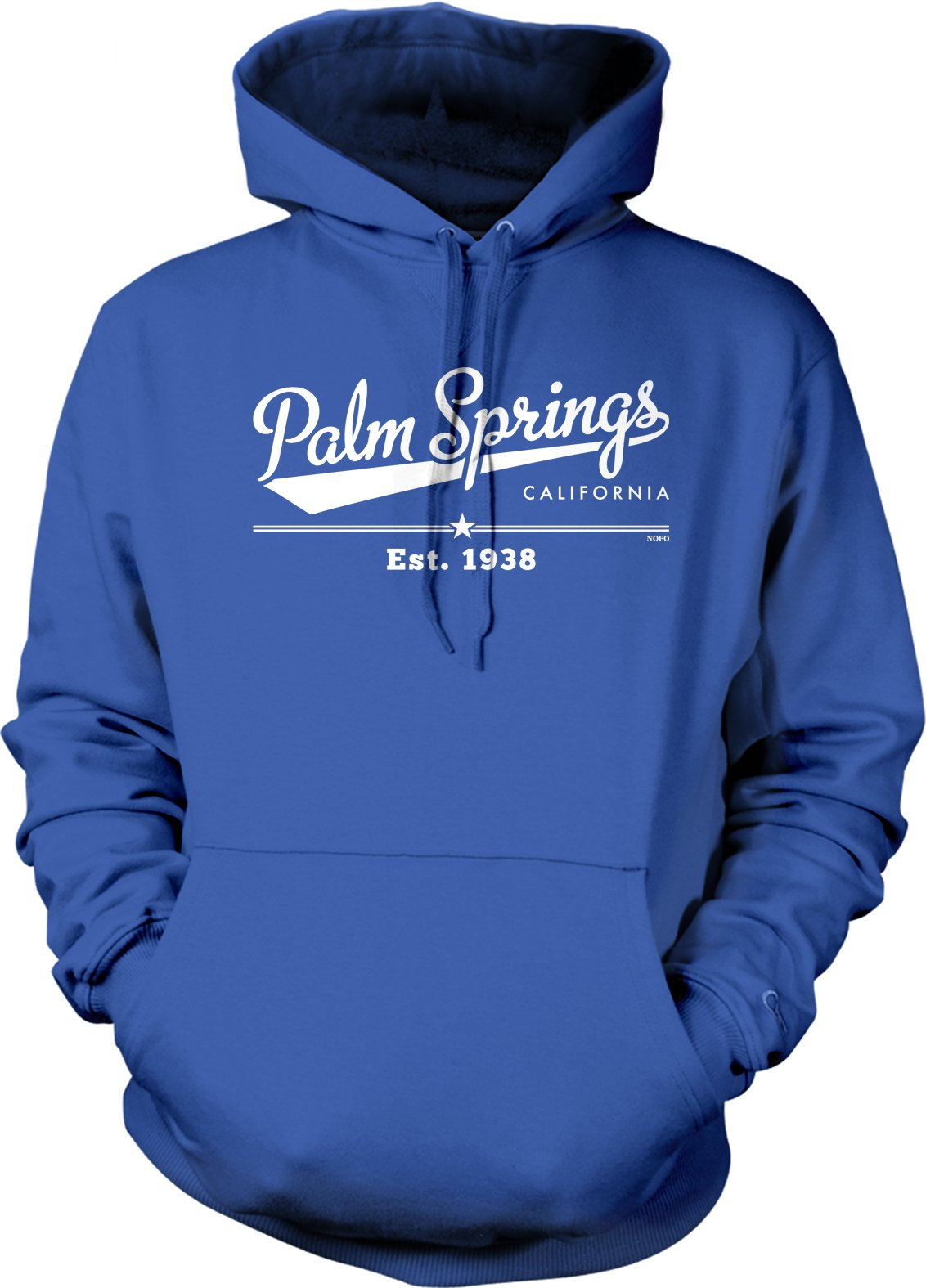 Palm Springs California Est 1938 Hooded Shirts