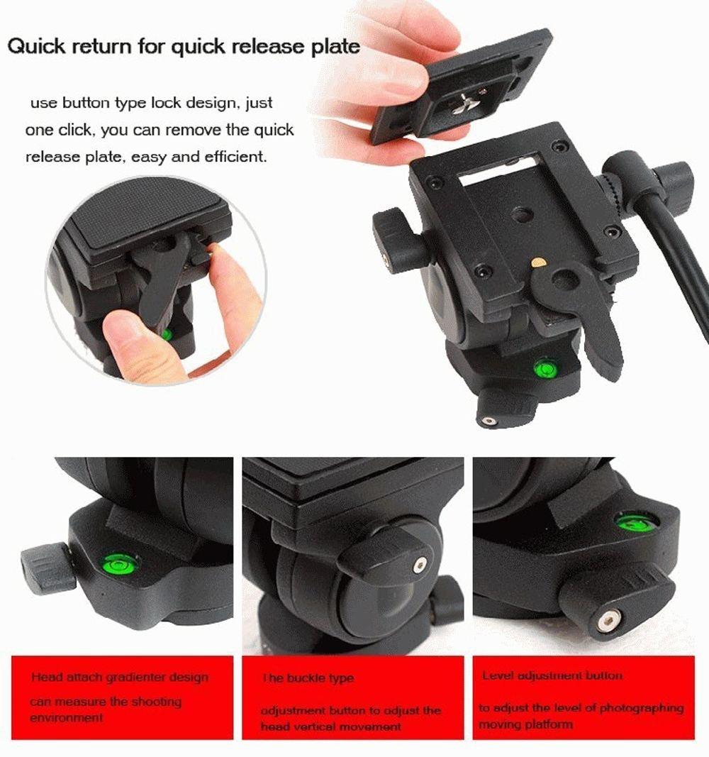Quick Release D for Sony SAL-1870 AF DT 18-70mm f//3.5-5.6 Professional Black 72 Monopod//Unipod