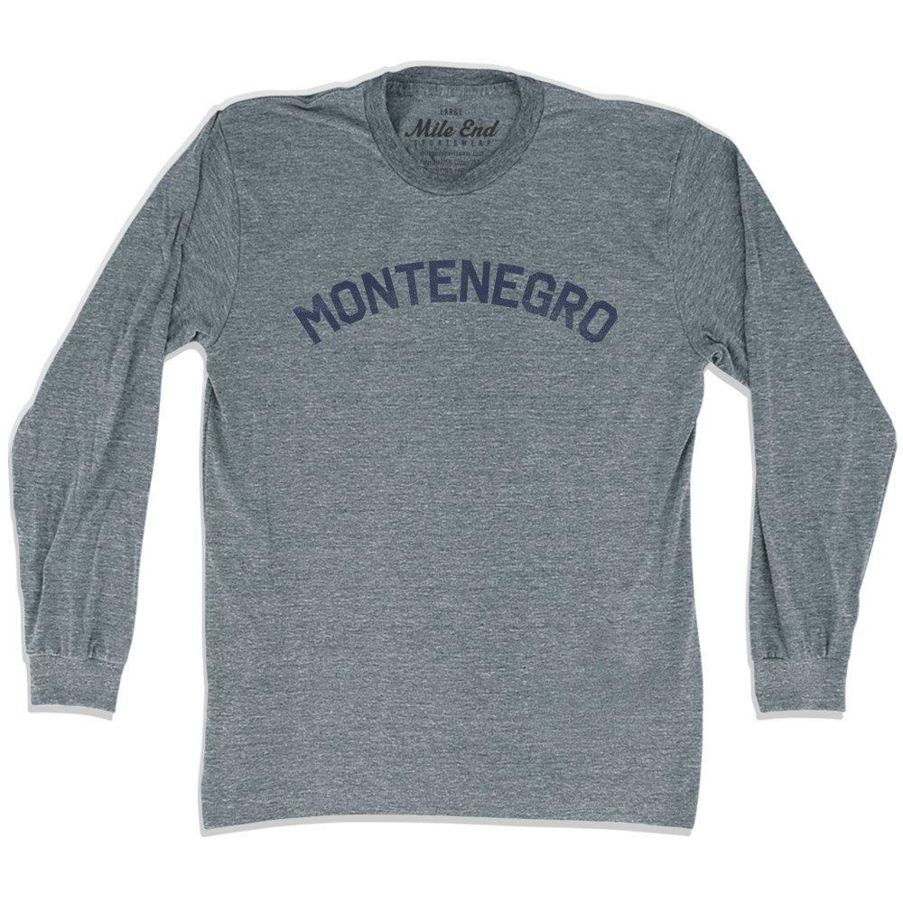 Montenegro City Vintage Long Sleeve/T-shirt