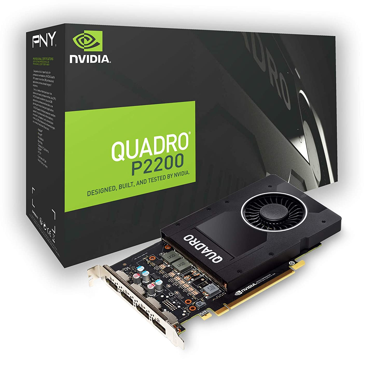 Nvidia 5GB P2200 DDR5X Quadro Professional Graphics Card