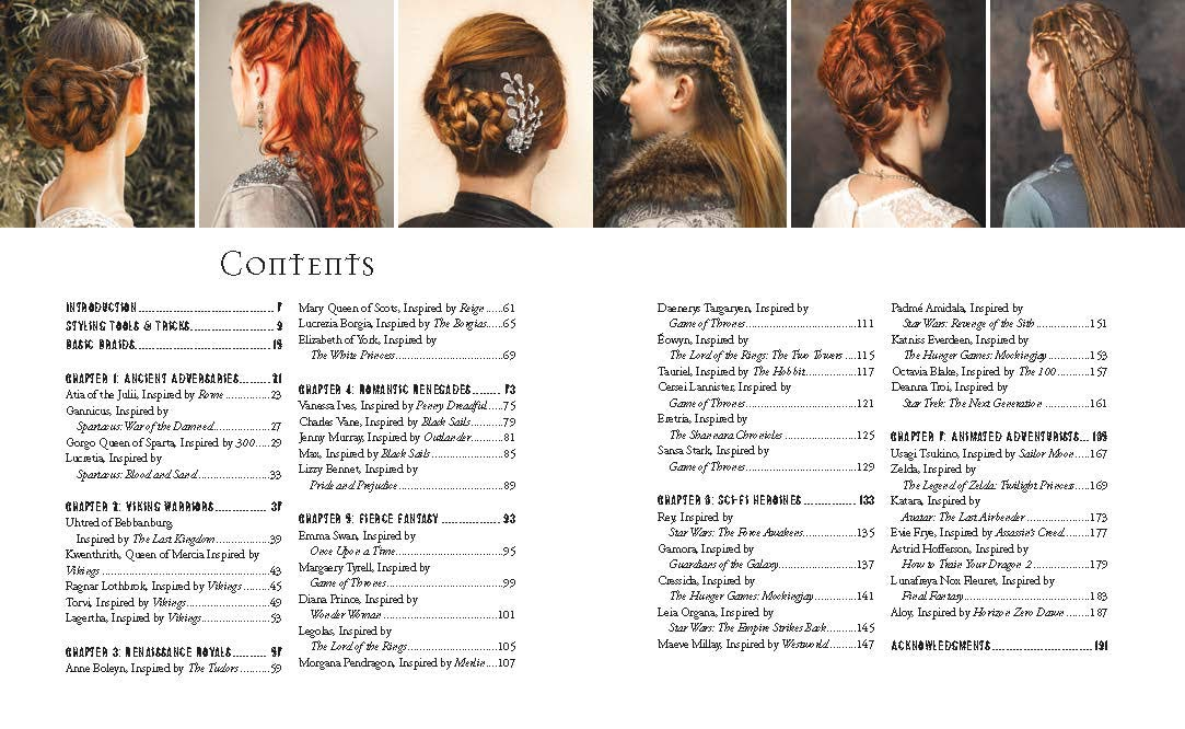 Fantasy Braids, Buns, and Twists: 45 Step by Step Hairstyles Inspired by Viking, Game of Thrones, and More: Amazon.es: Burns, Shannon: Libros en idiomas extranjeros