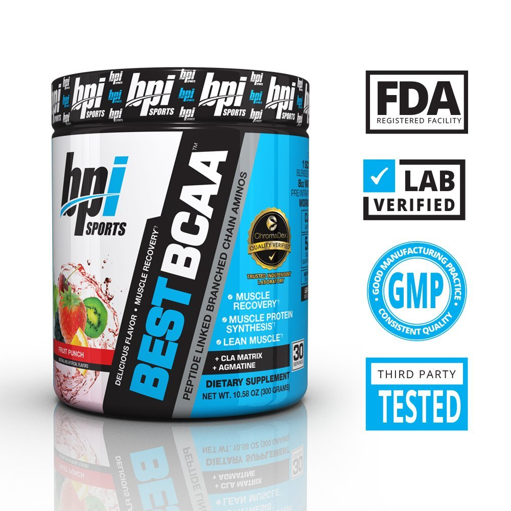 BPI Sports Best BCAA Powder, Fruit Punch, 10.58 Ounce by BPI Sports (Image #6)