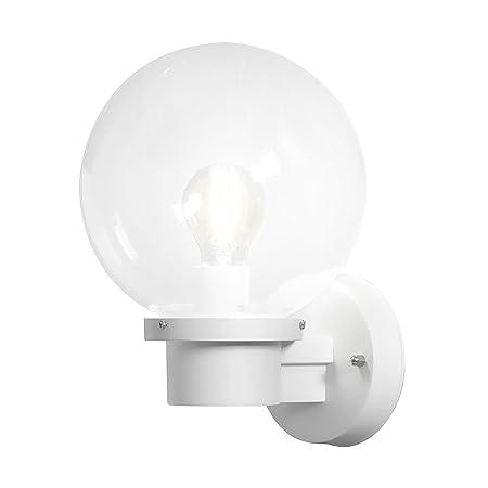 Konstsmide 7335 250 nemi up globe wall lightplastic white amazon konstsmide 7335 250 nemi up globe wall lightplastic white aloadofball Choice Image