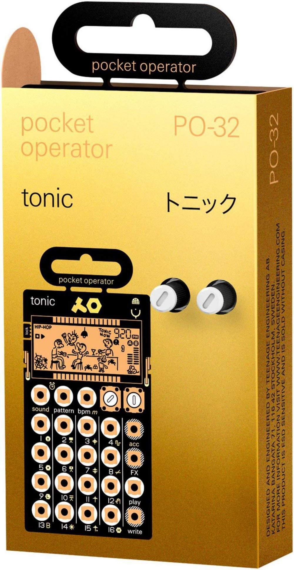 Teenage Engineering Pocket Operator PO-32 tonic Black (Certified Refurbished) by Teenage Engineering (Image #3)