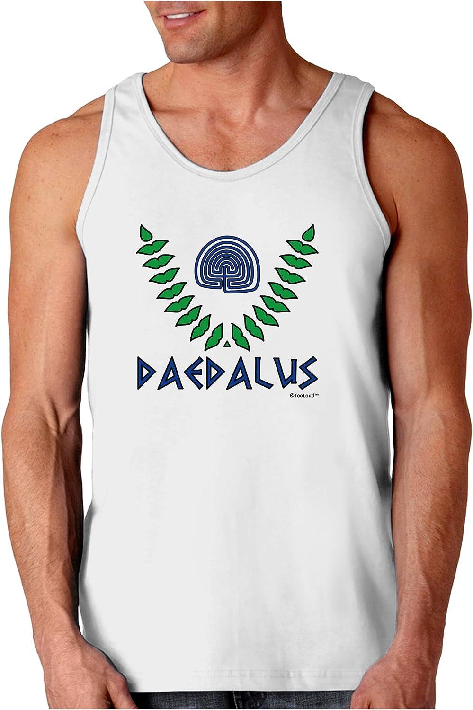 Greek Mythology Color Muscle Shirt TooLoud Labyrinth Daedalus