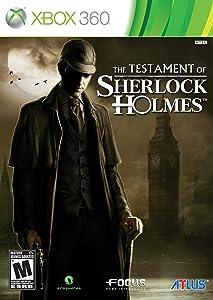 The Testament of Sherlock Holmes - Xbox 360 (Renewed)