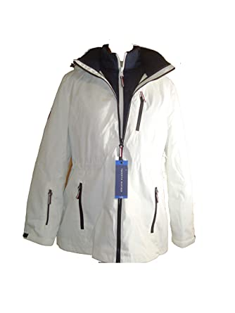 754a5b1ec4b Tommy Hilfiger 3-in-1 Systems Jacket for Women at Amazon Women s Coats Shop