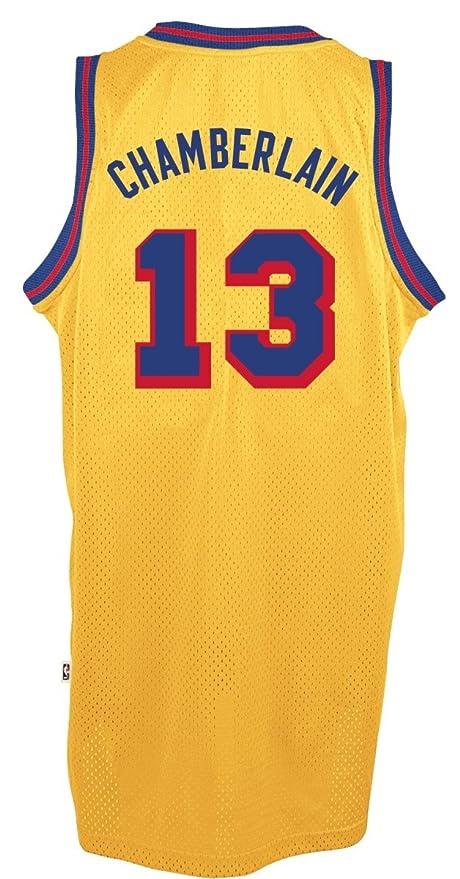 b71fcf6e601 Wilt Chamberlain Golden State Warriors Gold Throwback Swingman Jersey 4XL   Amazon.co.uk  Sports   Outdoors