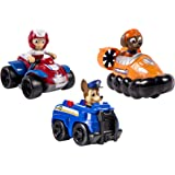 Spinmaster 6024059 - Paw Patrol Rescue Racer 3 Personaggi, Chase, Zuma e Ryder