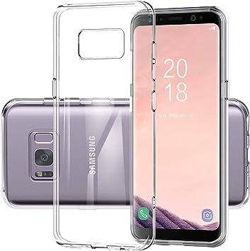 DOSMUNG Funda para Samsung Galaxy S8, Choque Absorcin Transparente ...