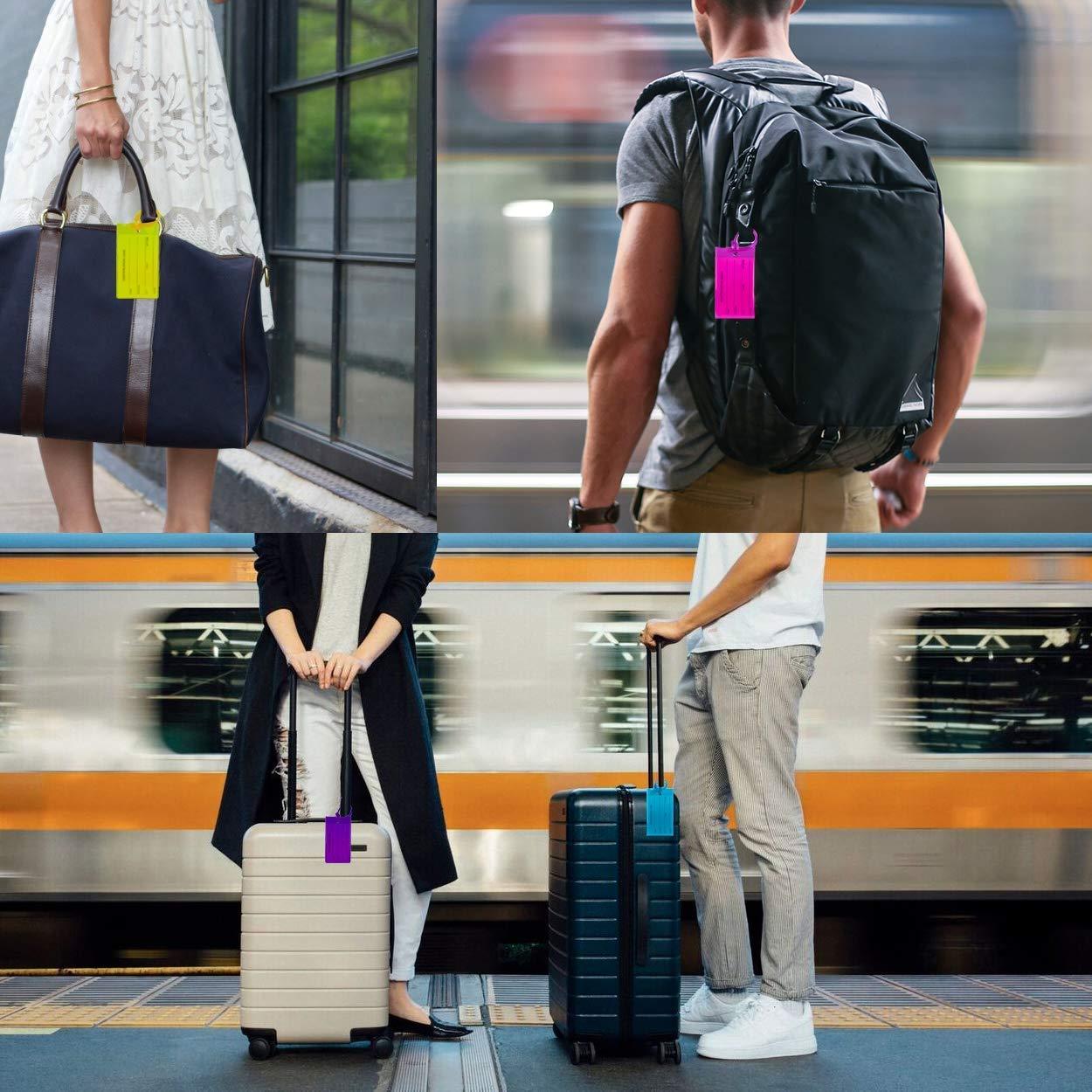 """NOV@GO®  Etiquette bagages VERT étiquette valise /'/' my bag /"""""""