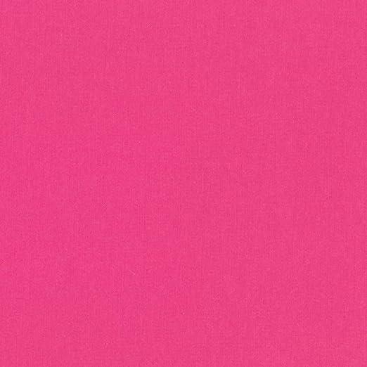 Kona - Telas lisas - Kona Azalea Pink - RKKONA10 - por 0,5 m - Paño de algodón 100% Kona (KONA Azalea Pink RKKONA10): Amazon.es: Amazon.es