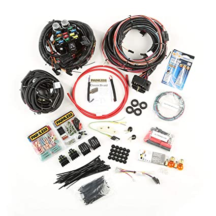 amazon com omix ada 17202 04 painless wiring harness for jeep cj Horse Driving Harness