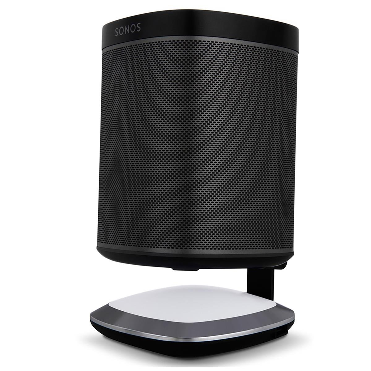 Sonos Play:1 All-In-One Wireless Music Streaming Speakers with Flexson Illuminated Charging Stands - Pair (Black) by Sonos (Image #8)