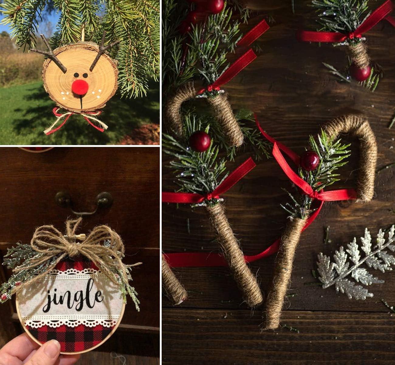 2mm 3 Ply Art Craft Garden Twine Jute Rope for Floristry Lemonfilter 1300 Feet Natural Jute Twine Gardening Bundling and Wedding Decorating Christmas Jute String DIY Gift Packing