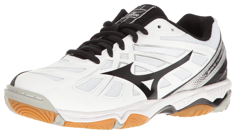 Mizuno Women's Wave Hurricane 3 Volleyball-Shoes B01N75DFOA 8 B(M) US White/Black