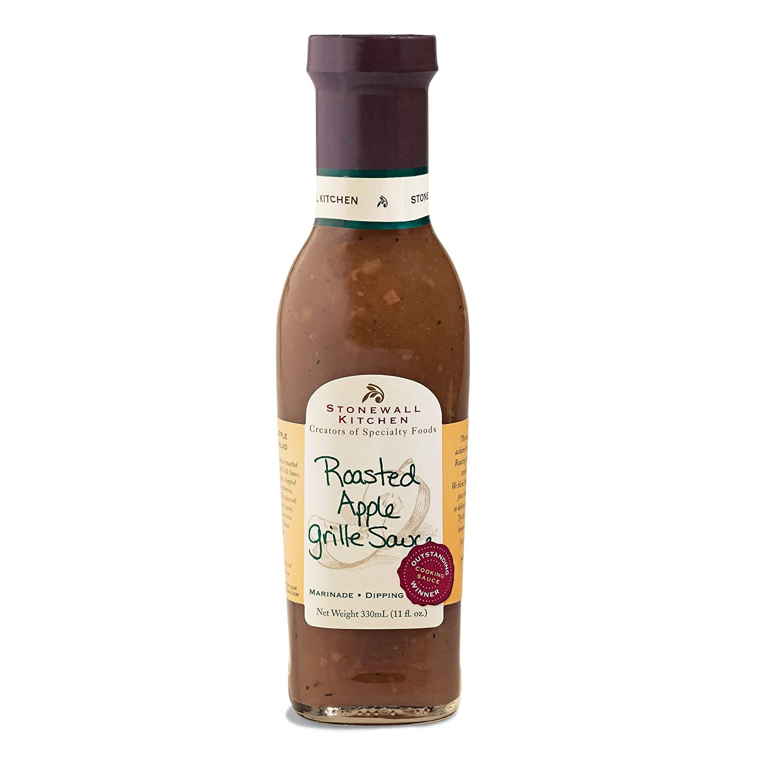 Stonewall Kitchen Roasted Apple Grille Sauce, 11 Ounces