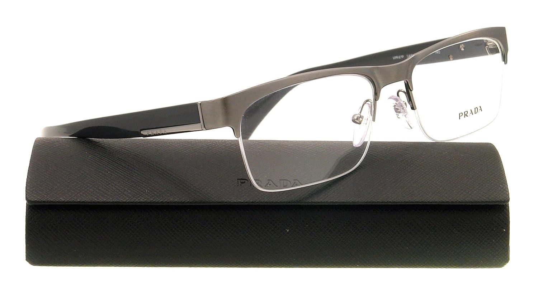 63ab0415ce7c Prada Eyeglasses VPR 67P GREY 7S5-1O1 PR 67PV: Amazon.co.uk: Clothing