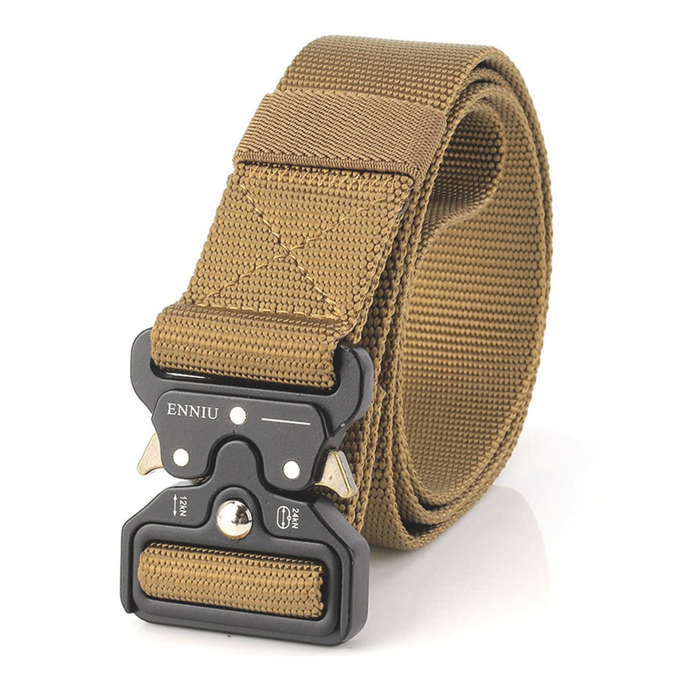 MUMUGO,Tactical Gürtel,Heavy Duty verstellbare Military Style Nylon Gürtel mit Zink Legierung Schnalle, militärischen Schnellverschluss Schnalle Taillenband Tactical Gürtel