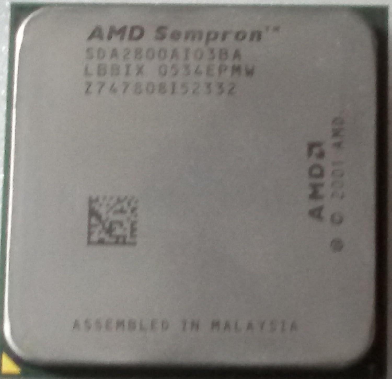 AMD Sempron 2800 Socket 754 CPU SDA2800AIO3BA