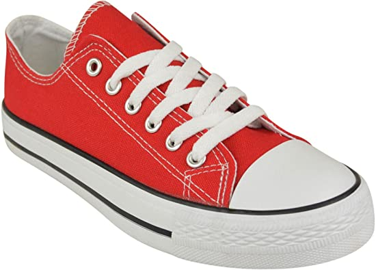 Canvas Casual Flat Trainers