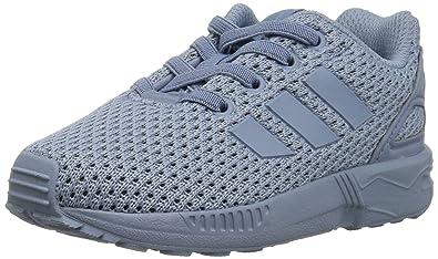 8f01fca788105 ... australia adidas originals boys zx flux el i sneaker tactile blue s 4 m  20935 321ff