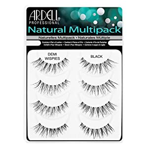 Ardell Professional Demi Wispies Natural Multipack (4 Pairs of Lashes)