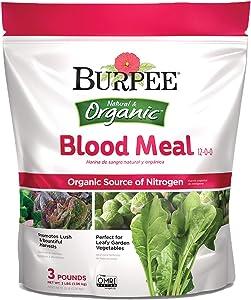 Burpee Organic Blood Meal Fertilizer, 3 lb