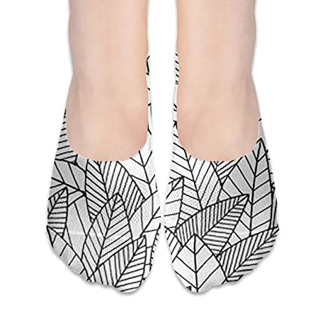 black leaves thin casual no show socks non slip of hidden flat boat  black leaves thin casual no show socks non slip of hidden flat boat liner at amazon women s clothing store