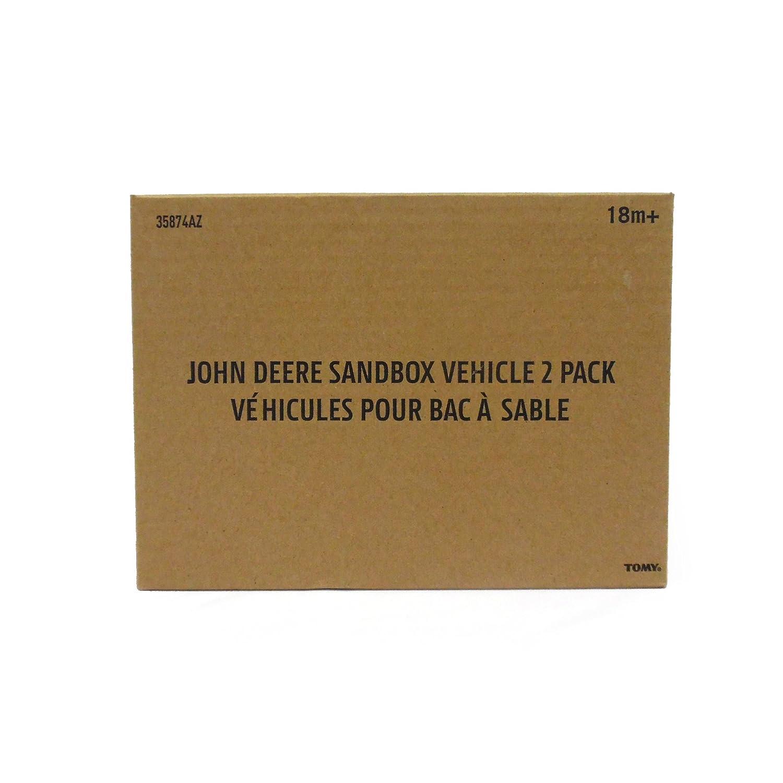 2 Pack John Deere Sandbox Vehicle