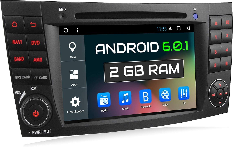 Xomax Xm 06za Autoradio Passend Für Mercedes W211 W219 Elektronik