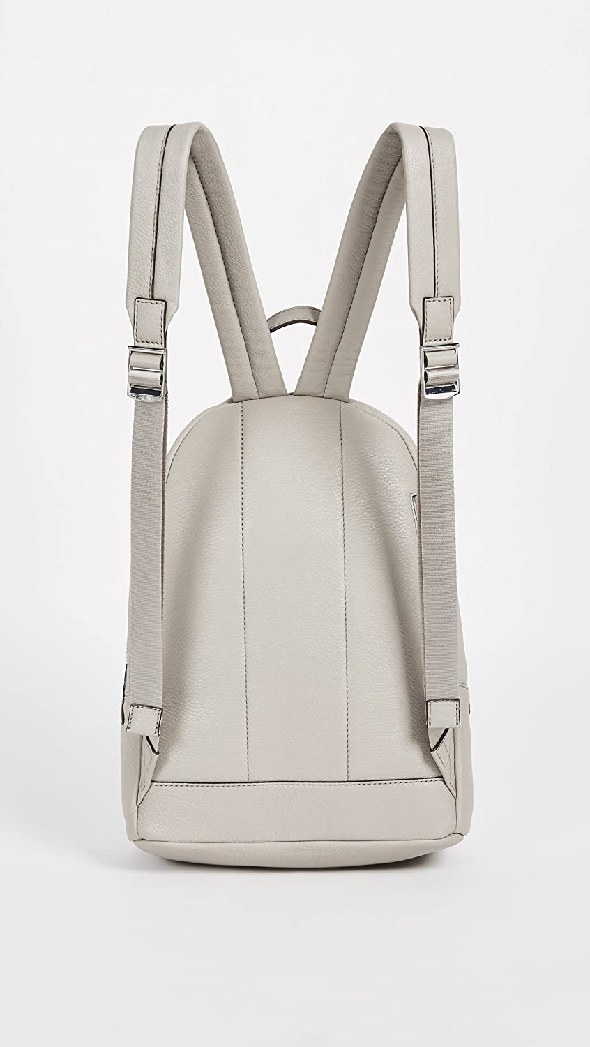 f060d53ff93cd9 Amazon.com: MICHAEL Michael Kors Women's Wythe Large Backpack, Pearl Grey,  One Size: Clothing