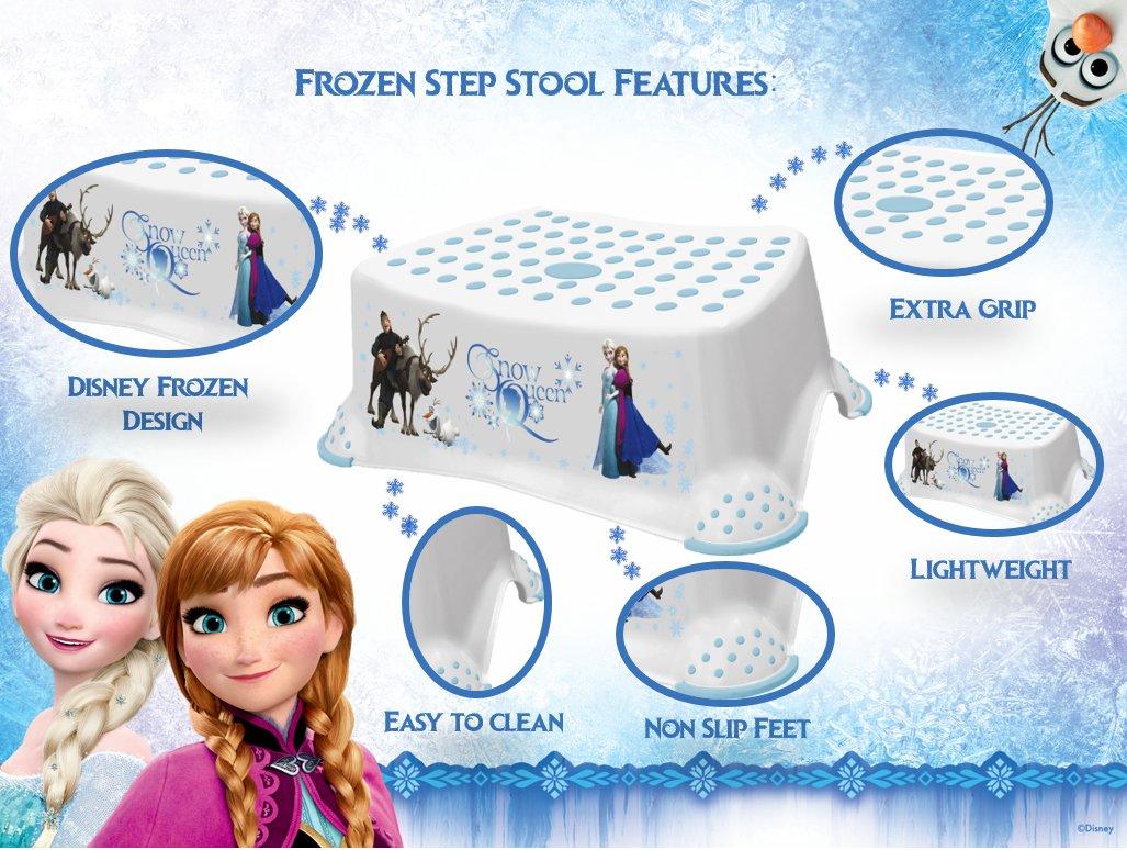 Disney Baby Frozen Step Stool with Non Slip Feet