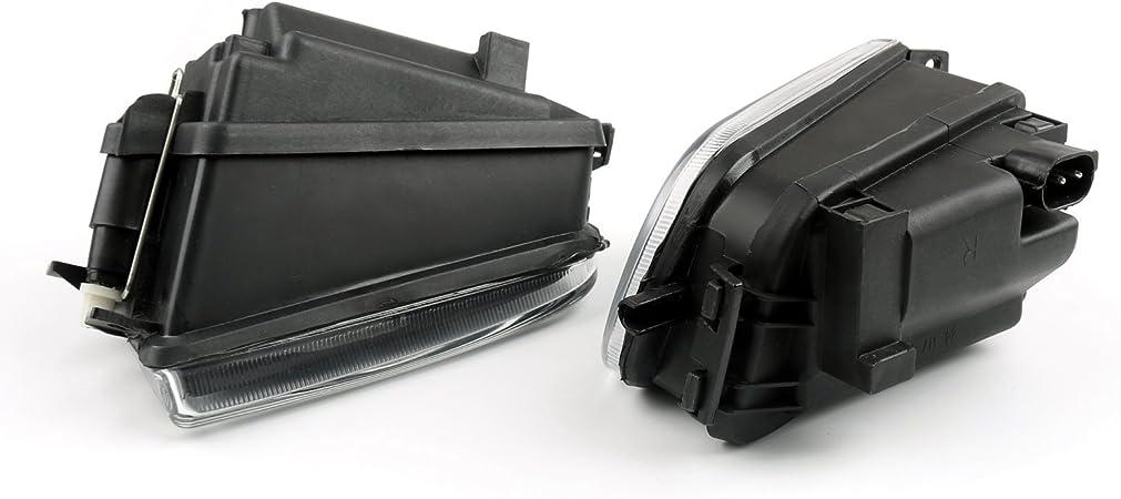 Topteng V/éhicule de Feux Antibrouillard Phare,Phare de Travail Imperm/éable IP67 Feux Projecteur Voiture Rond Travail Lampe pour V-W Touareg 2004-2007-bbb