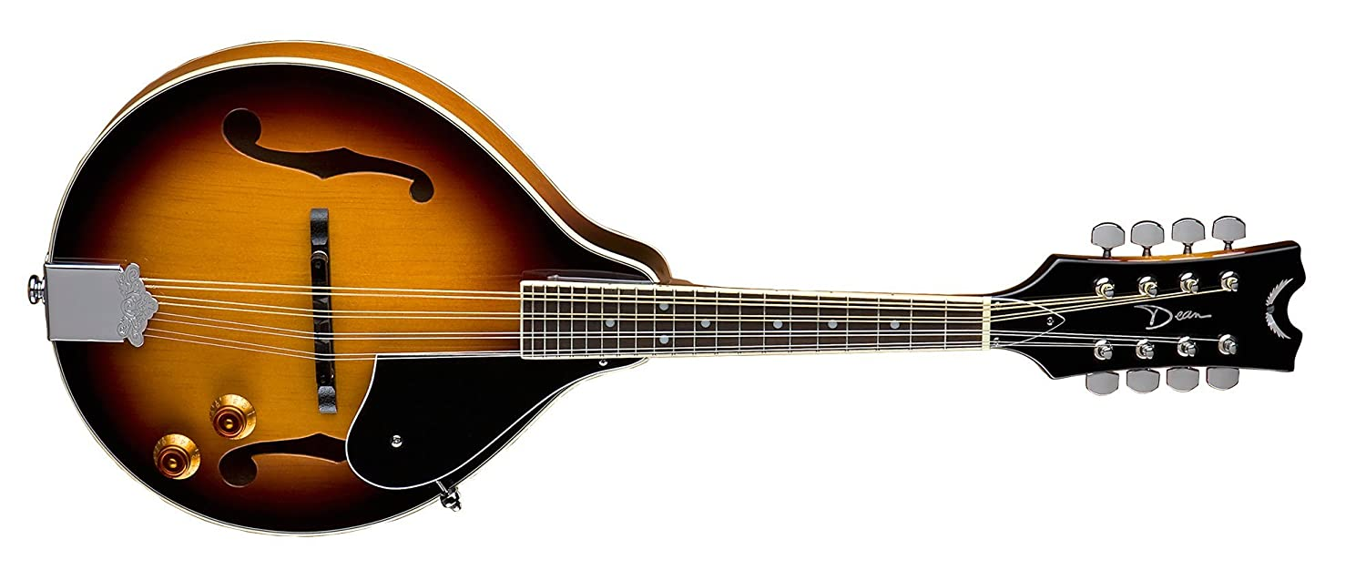 Dean Tennessee A Style Acoustic-Electric Mandolin Vintage Sunburst Dean Guitars TNAE VS MH-TNAEVS