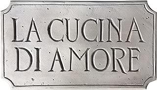 product image for Piazza Pisano Italian Kitchen Decor Cucina Sign