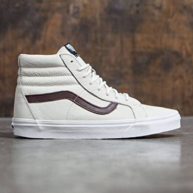 Vans Men SK8-Hi Reissue - Leather (White/Blanc de Blanc)