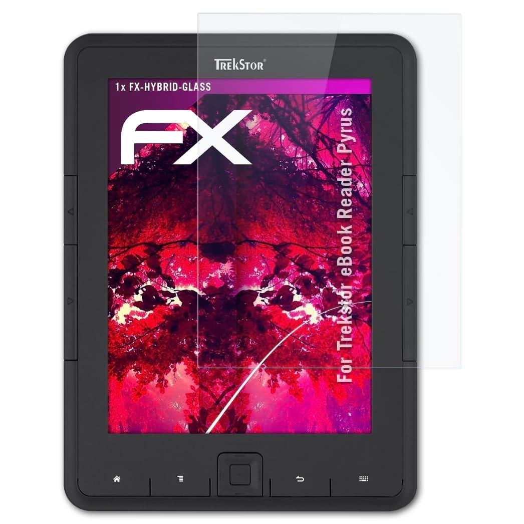 atFoliX Lámina Protectora de plástico Cristal para Trekstor eBook ...