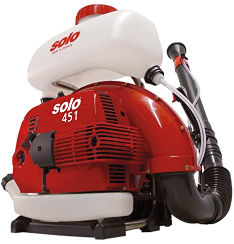 Solo 451 3-Gallon 2-Stroke Gas Powered Backpack Mist Blower, Lightweight,  Low Fuel Consumption