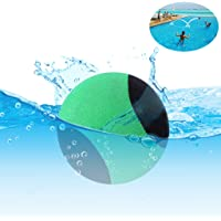 Edealing Water Bouncing Ball per piscina e mare - Fun Water Sports Game per famiglia e amici - Anti-cracking Soft and Strong Bounce - 2.17 Inch (verde)