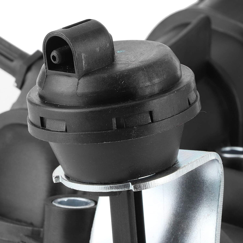Bediffer Kunststoff-Ansaugkr/ümmer Stabiles Anti-Aging-Autozubeh/ör f/ür Auto 1St