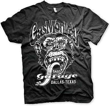 Officially Licensed Merchandise Gas Monkey Garage Black Dallas Texas Sweatshirt