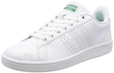 competitive price e380e 74a76 adidas Cloudfoam Advantage Clean, Scarpe da Ginnastica Basse Uomo, Bianco  (Footwear White